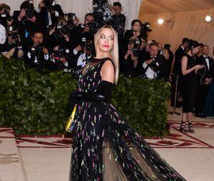 Rita Ora au MET Gala 2018 le 7 mai à New York