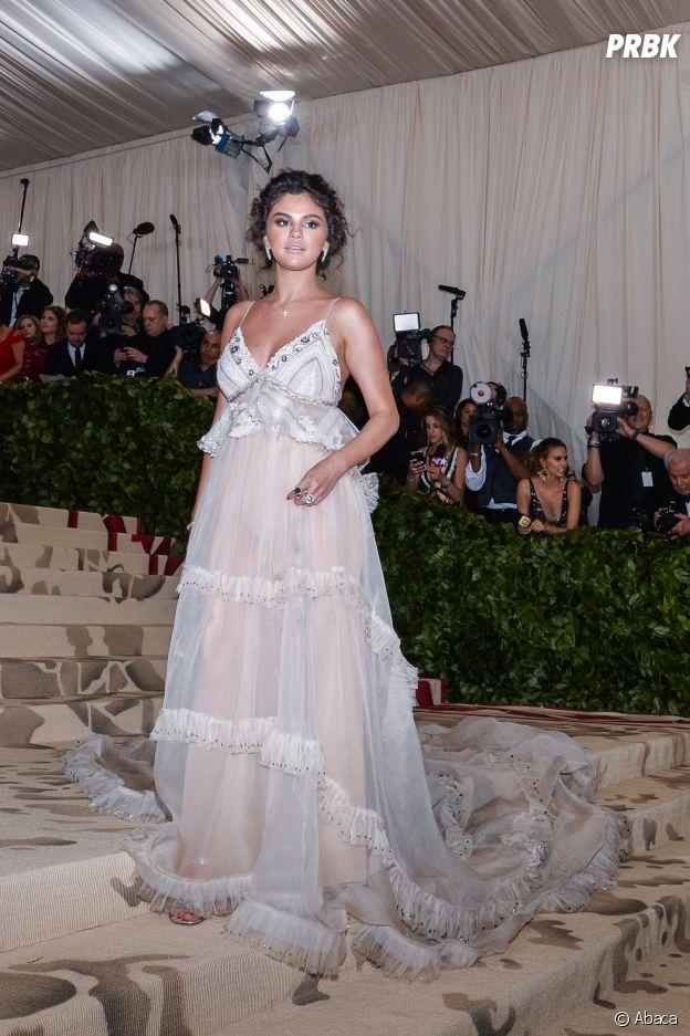 Selena Gomez au MET Gala 2018 le 7 mai à New York