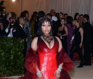Nicki Minaj au MET Gala 2018 le 7 mai à New York