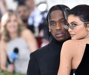 Kylie Jenner et Travis Scott au MET Gala 2018 le 7 mai à New York