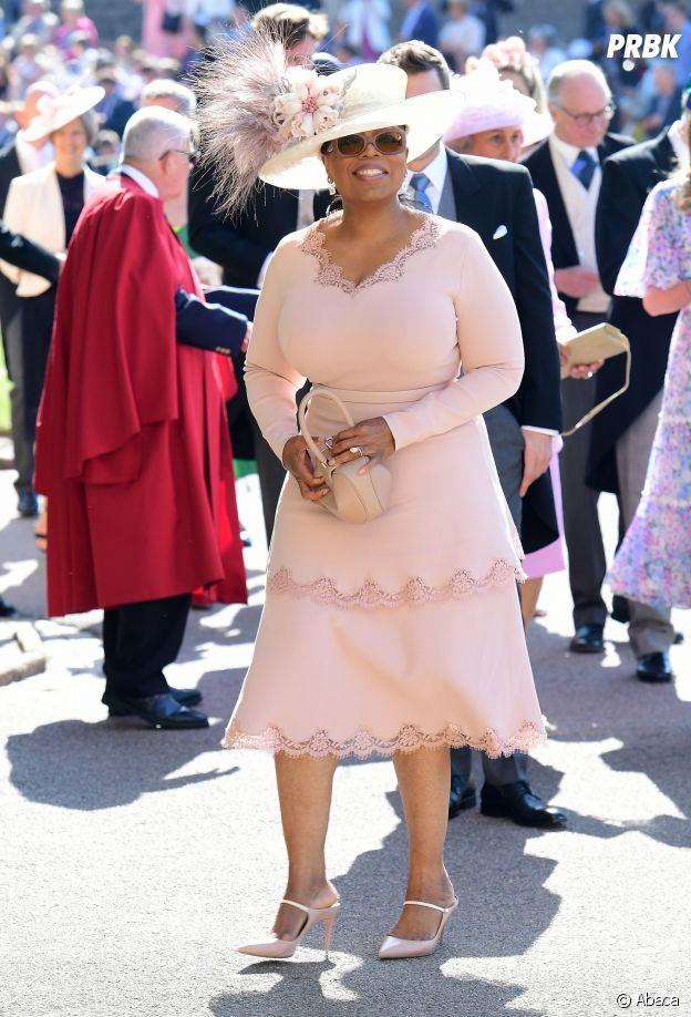Oprah Winfrey au mariage de Meghan Markle et du Prince Harry.