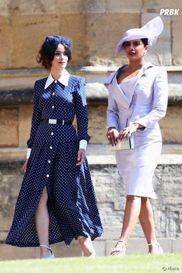 Priyanka Chopra (Quantico) et Abigail Spencer (Suits) au mariage de Meghan Markle et du Prince Harry.