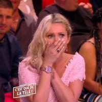 Tatiana-Laurence Delarue dévoile un sein en direct dans C'est que de la télé 🙈
