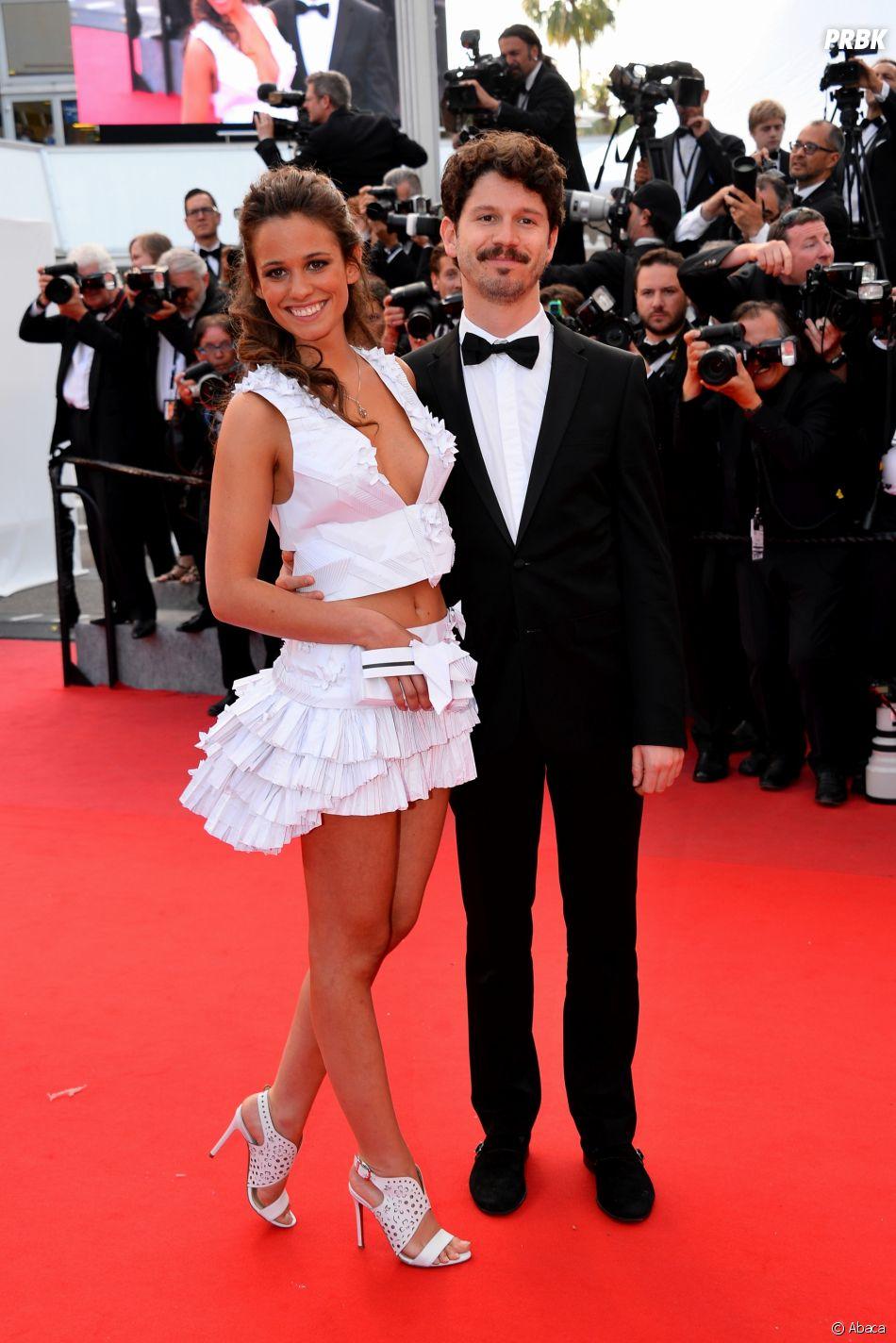 Lucie Lucas et son mari Adrien au Festival de Cannes