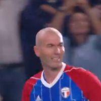 Zinédine Zidane régale les téléspectateurs et les internautes lors du match France 98 vs Fifa 98