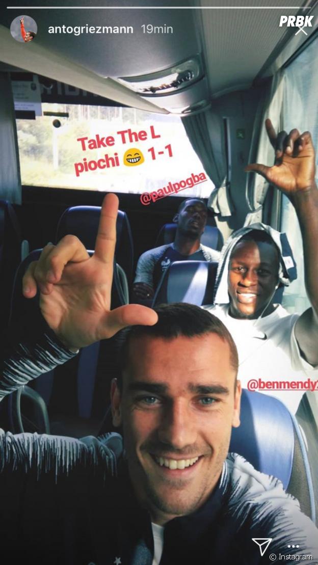 Coupe du Monde 2018 : Antoine Griezmann surprend Paul Pogba en pleine sieste et se venge