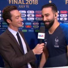 Coupe du monde 2018 : quand Adil Rami drague Anne-Claire Coudray en direct