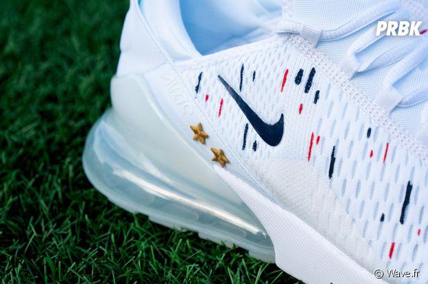 Les Nike Air Max 270 hommages à Kylian Mbappé et aux Bleus pour fêter les deux étoiles des Bleus