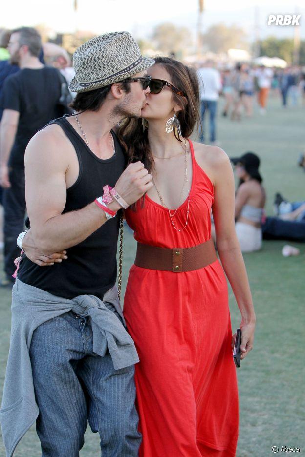Ces couples formés sur le tournage d'un série : Nina Dobrev et Ian Somerhalder de The Vampire Diaries