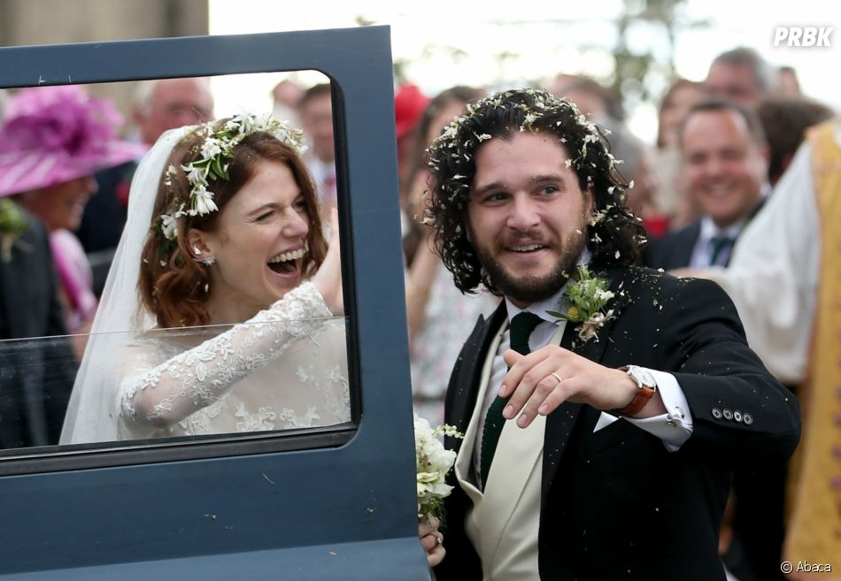 Ces couples formés sur le tournage d'un série : Rose Leslie et Kit Harington de Game of Thrones