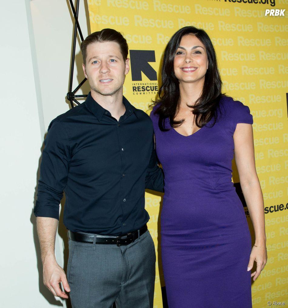 Ces couples formés sur le tournage d'un série : Ben McKenzie et Morena Baccarin de Gotham