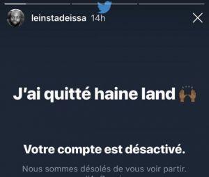 Issa Doumbia quitte Twitter