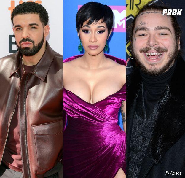 Drake, Cardi B, Post Malone... Spotify dévoile les 20 morceaux les plus écoutés de l'été 2018 !