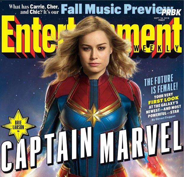 Captain Marvel : la nouvelle super-héroïne se dévoile enfin