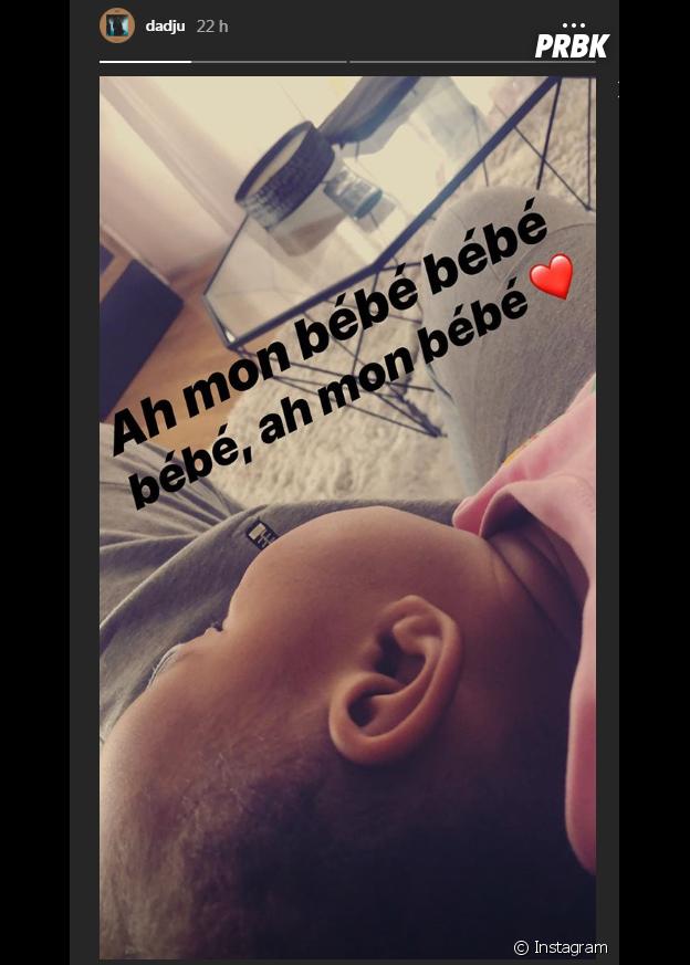 Dadju adresse une belle déclaration à sa fille