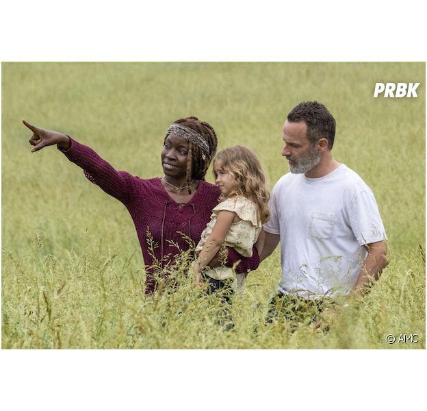 The Walking Dead saison 9 : Rick et Michonne heureux en amour cette année