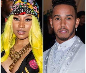 """Nicki Minaj en couple avec Lewis Hamilton ? """"Il y a eu une attraction instantanée entre eux"""""""