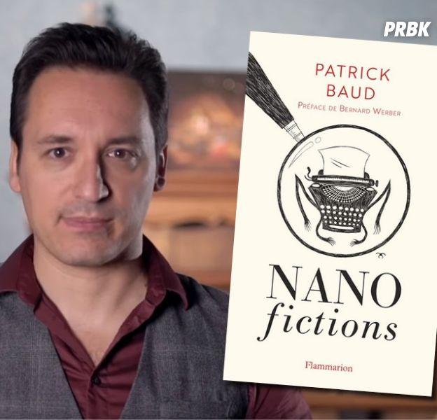 """Patrick Baud (Axolot) : ses """"Nanofictions"""" sortent en livre"""