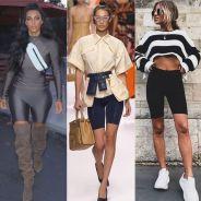 Kim Kardashian, Bella Hadid, Noholita... Le short cycliste, la nouvelle tendance chez les it girls