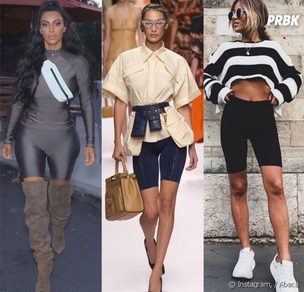 Kim Kardashian, Bella Hadid, Noholita Le short cycliste, la nouvelle