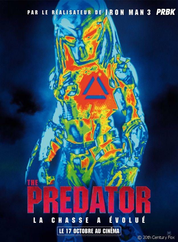 The Predator actuellement au cinéma.