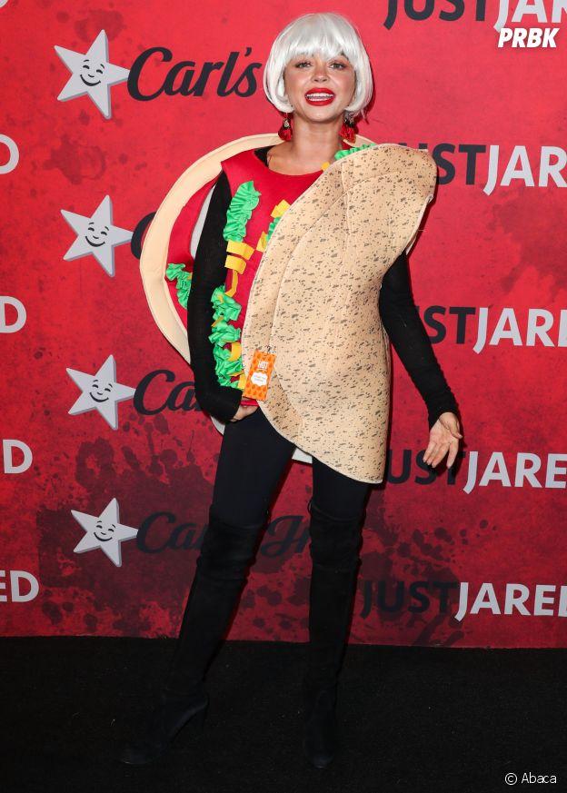 Sarah Hyland déguisée en burrito