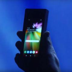 Infinity Flex Display : Samsung dévoile (un peu) son premier smartphone pliable