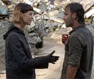 The Walking Dead : Jadis absente des films avec Rick ?