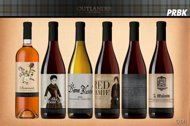 Nos idées de cadeaux pour Noël 2018 : le vin Outlander