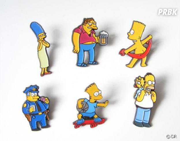 Nos idées cadeaux pour Noël 2018 : les pin's Les Simpson