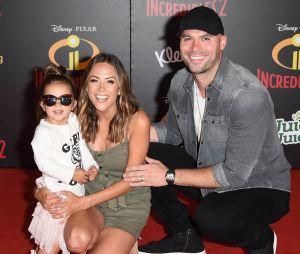 Jana Kramer (Les Frères Scott), Mike Caussin et leur fille Jolie Rae Caussin