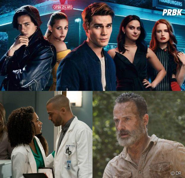 Riverdale, The Walking Dead, Grey's Anatomy... : les 10 scènes les plus débiles des séries en 2018