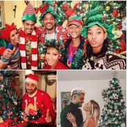 Camille Combal, Bigflo et Oli, les Bleus... Comme vous, les stars ont pris des photos kitschs à Noël