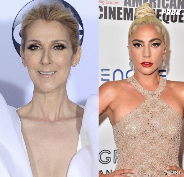 """Céline Dion """"on fire"""" au concert de Lady Gaga : elle se lâche en vidéo"""