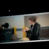 Justin Bieber ... Fan du Kinect de Microsoft