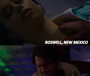 Roswell, New Mexico : la scène de la guérison