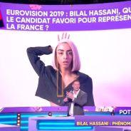 """Bilal Hassani : """"poussé par la prod"""", """"travesti"""", sans talent... TPMP People dézingue le chanteur"""