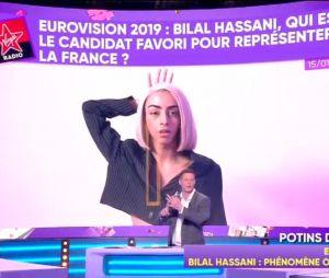 """Bilal Hassani """"poussé par la production"""", """"travesti"""", sans talent... TPMP People dézingue le chanteur"""