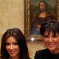 Kim Kardashian ... Elle fait de l'ombre à la Joconde