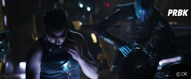 Avengers 4 : Tony et Nebula au travail