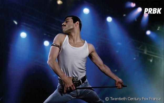 Rami Malek dans Bohemian Rhapsody