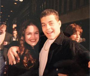 Rami Malek et Rachel Bilson durant leurs années lycée