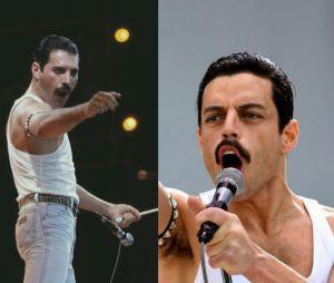 Freddie Mercury au live aid VS Rami Malek dans Bohemian Rhapsody