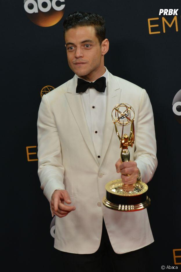 Rami Malek récompensé d'un Emmy Awards pour Mr Robot en 2016