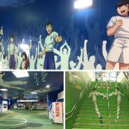 Olive et Tom : une station de métro transformée en terrain de foot au Japon