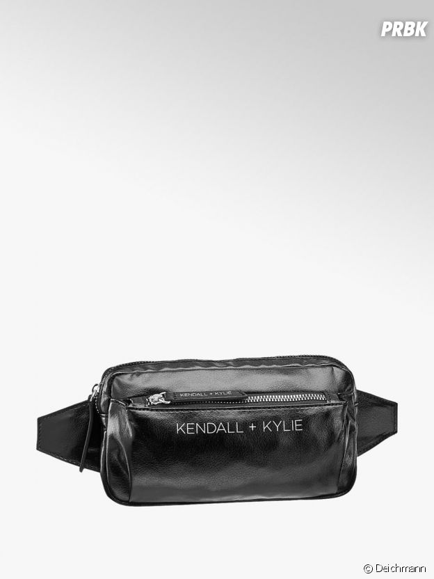 Kylie Jenner et Kendall Jenner pour Deichmann : le sac banane Kendall + Kylie à 19,90€.