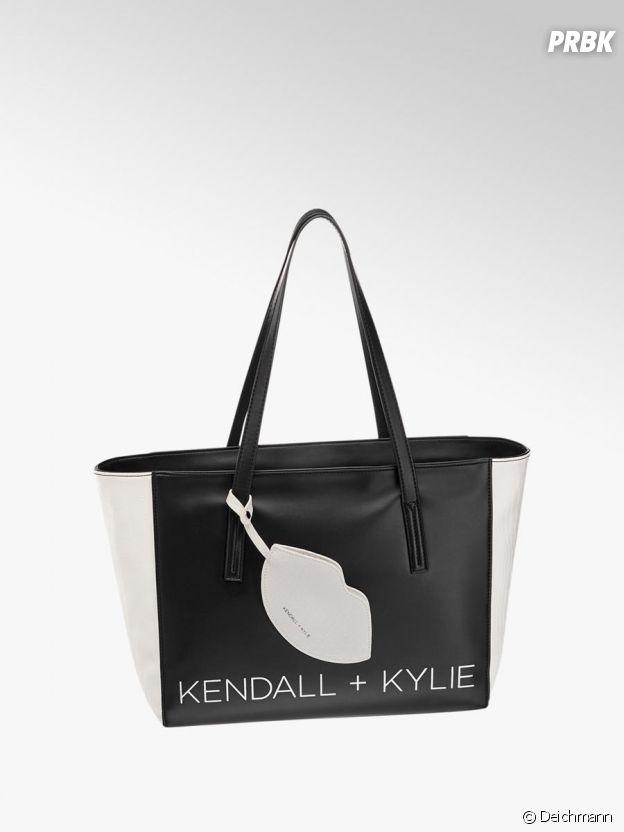 Kylie Jenner et Kendall Jenner pour Deichmann : le sac cabas Kendall + Kylie à 29,90€.