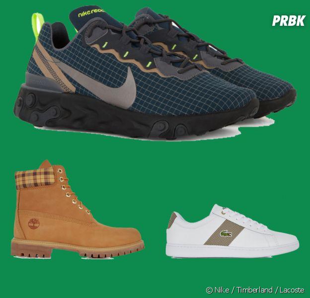 Nike, Timberland, Lacoste : les chaussures se mettent au tartan pour la Saint-Patrick