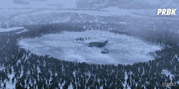 Game of Thrones : comment a été recréé le lac gelé de la saison 7 ?