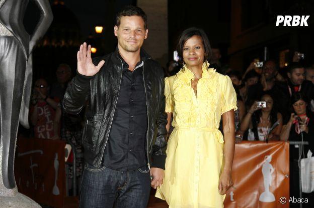 Justin Chambers et sa femme Keisha en 2009